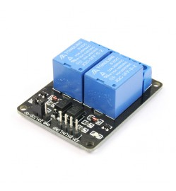 2 Channels (5V) Opto-Isolated Relay Module