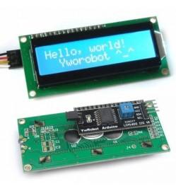 I2C 16 x 2 LCD Display Module