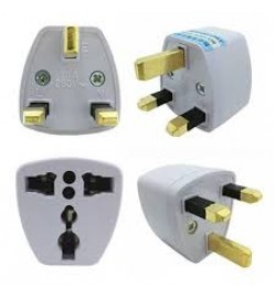 Universal 3 Pin UK Plug Adapter