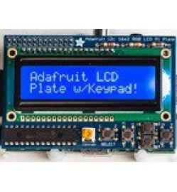 Adafruit Blue&White 16x2 LCD+Keypad Kit for Raspberry Pi PRODUCT ID: 1115