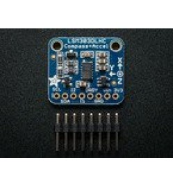 Adafruit Triple-axis Accelerometer+Magnetometer (Compass) Board - LSM303 PRODUCT ID: 1120