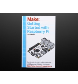 Adafruit Getting Started with Raspberry Pi - 3rd Edition PRODUCT ID: 1173