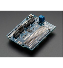 Adafruit 16-Channel 12-bit PWM/Servo Shield - I2C interface PRODUCT ID: 1411