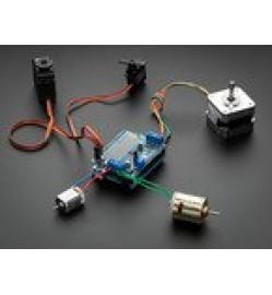 Adafruit Motor/Stepper/Servo Shield for Arduino v2 Kit - v2.3 PRODUCT ID: 1438