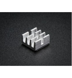 "Adafruit Aluminum SMT Heat Sinks 10 Pack - 0.25""x0.25"" x 0.15"" tall"