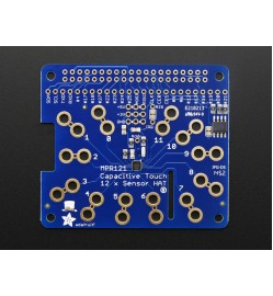 Adafruit Capacitive Touch HAT for Raspberry Pi - Mini Kit - MPR121 PRODUCT ID: 2340