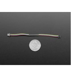 STEMMA QT / Qwiic JST SH 4-pin Cable - 100mm Long