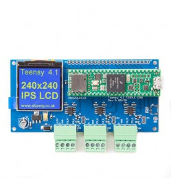 Teensy 4.1 Triple CAN Bus Board With Two CAN 2.0B And One CAN FD Port With 240x240 IPS LCD