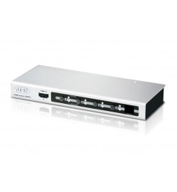ATEN 4-Port HDMI Switch IR and RS232 Remote Control - 1080P