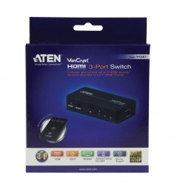 ATEN 3 Port HDMI Switch with Remote Control
