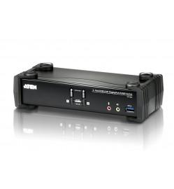 2-Port USB 3 Displayprt 1.2 KVM Switch 4K DisplayPort KVMP™ Switch