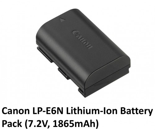 Canon LPE6 Rechargeable Lithium Ion Battery Pack