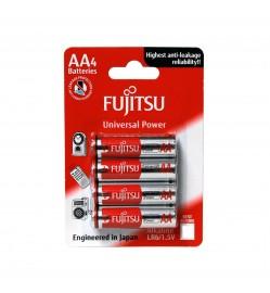 Fujitsu LR6 (4B) FU AAx4 Alkaline Battery