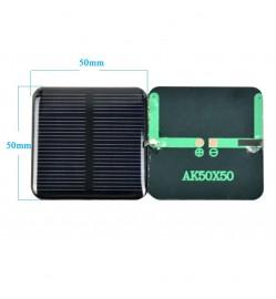 Solar Panel - Monocrystalline Silicon Module 2V 160mA - 50*50MM