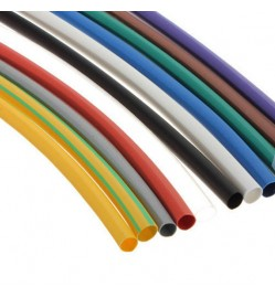 10mm, Black, 2:1, Halogen free, flexible heat shrink tubing