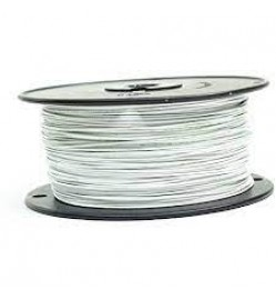 ETFE Wire, White, 16 AWG, 100 Meter