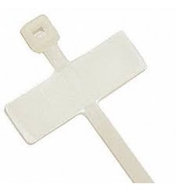 "4"" Cable Tie Marker Tag - 100/Pack"