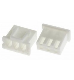 JST XH 2.5mm 3 Way Housing (Excludes Female Pins)