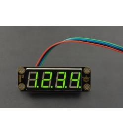Gravity: 4-Digital LED Segment Display Module (Green)