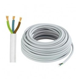 Power cable 3 Core 1mm sq. - 35 Mtr/Roll
