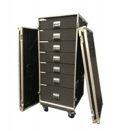 "Customize 19"" Rack Drawer Flight Cases"