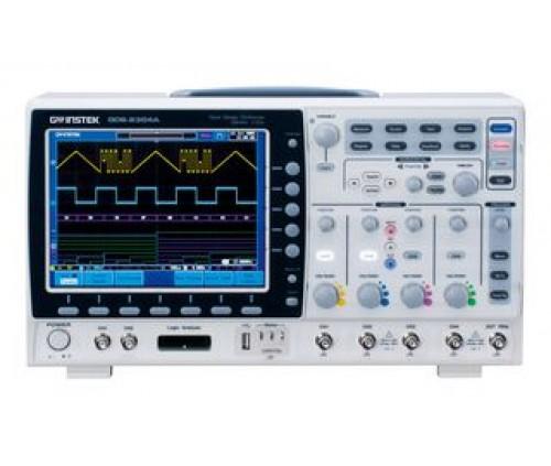 GW INSTEK GDS-2204A Digital Oscilloscope, GDS-2000A Series, 4 Channel, 2GSPS, 1.75ns, 2Mpts, 200MHz