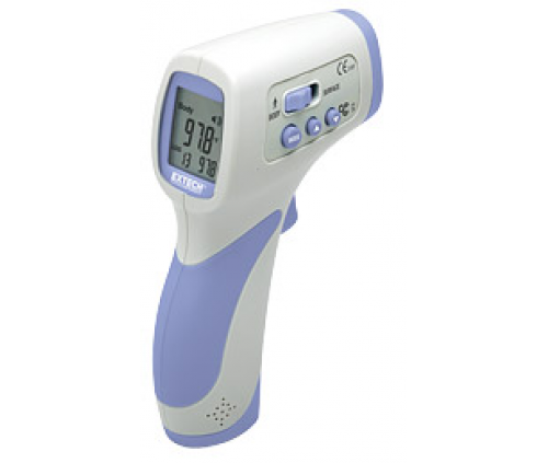 Non-Contact Forehead InfraRed Thermometer (Extech IR200) (Discontinued)