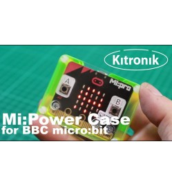 Kitronik MI:power Case Green for the BBC micro:bit