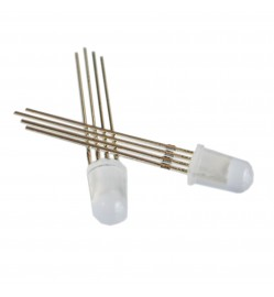5mm Diffused RGB LED - Common Anode