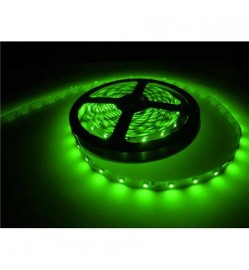 2835 - 60 LEDs Strip Super Brightness Green - 5 Meter