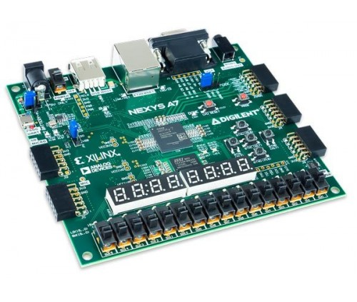 Nexys A7-50T : FPGA Trainer Board