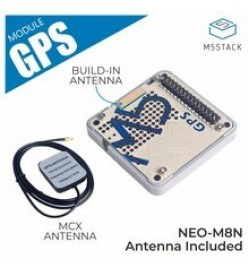 GPS Module with Internal & External Antenna (NEO-M8N)