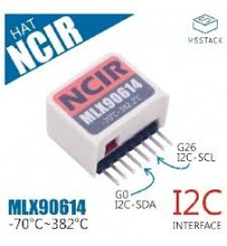 M5StickC NCIR Hat(MLX90614)