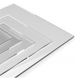 Acrylic Sheets - 3mm Transparent 1000 x 1000 mm