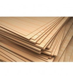 Plywood, 1000 X 1000 X 3 MM