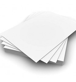 A4 200 Gsm - White Presentation Papers (50 Sheets)