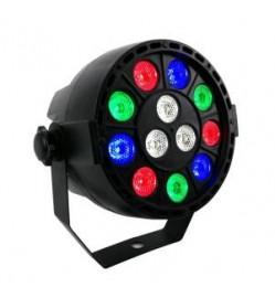 DMX 512 LED Par Light 12x3W RGBW Disco Effect Stage Lighting
