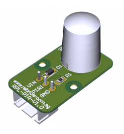 Low Current Consumption PiR Sensor Breakout Board