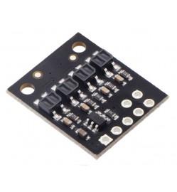 QTR-HD-04RC Reflectance Sensor Array: 4-Channel, 4mm Pitch, RC Output