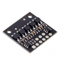 QTR-HD-05RC Reflectance Sensor Array: 5-Channel, 4mm Pitch, RC Output