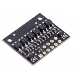 QTR-HD-06RC Reflectance Sensor Array: 6-Channel, 4mm Pitch, RC Output