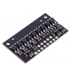 QTR-HD-09RC Reflectance Sensor Array: 9-Channel, 4mm Pitch, RC Output