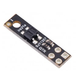 QTR-HD-01A Reflectance Sensor: 1-Channel, 5mm Wide, Analog Output