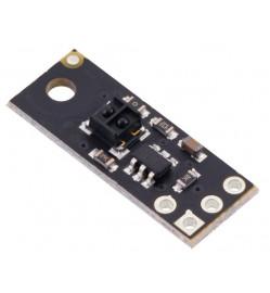 QTRX-MD-01A Reflectance Sensor: 1-Channel, 7.5mm Wide, Analog Output, Low Current