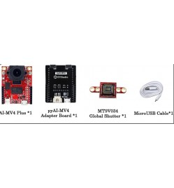 OpenMV4 H7 Ai Camera Module Development Board and MT9V034 Global Shutter