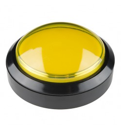 Arcade Game Push Button Switch 100mm - YELLOW