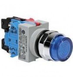 IDEC 24V 22MM Push Button Momentary Switch with Light (ALW29910D)