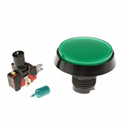ARCADE BUTTON 60 MM- GREEN