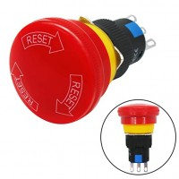 E-Stop switch 3 pin Push Button - 16mm Mounting