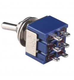 6PIN TOGGLE SWITCH ON-OFF-ON DPDT